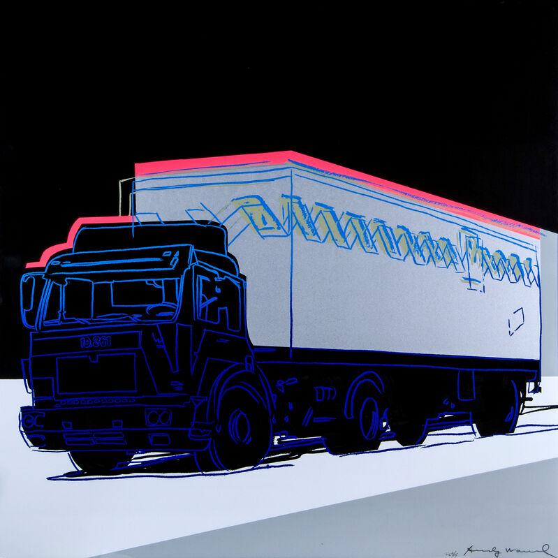 Andy Warhol, 'Truck (FS II.370)', 1985, Print, Screenprint in colours on Lenox Museum Board, Artsy x Tate Ward