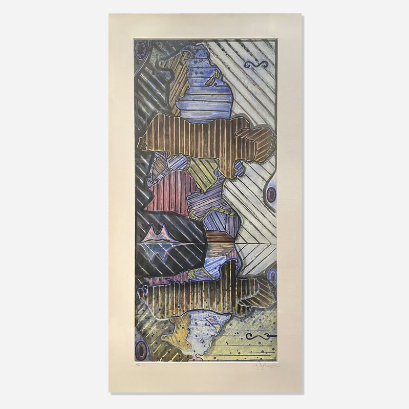 Jasper Johns, 'Green Angel II', 1997, Print, Intaglio printed in colors on Hahnemuhle Copperplate paper, Artsy x Rago/Wright