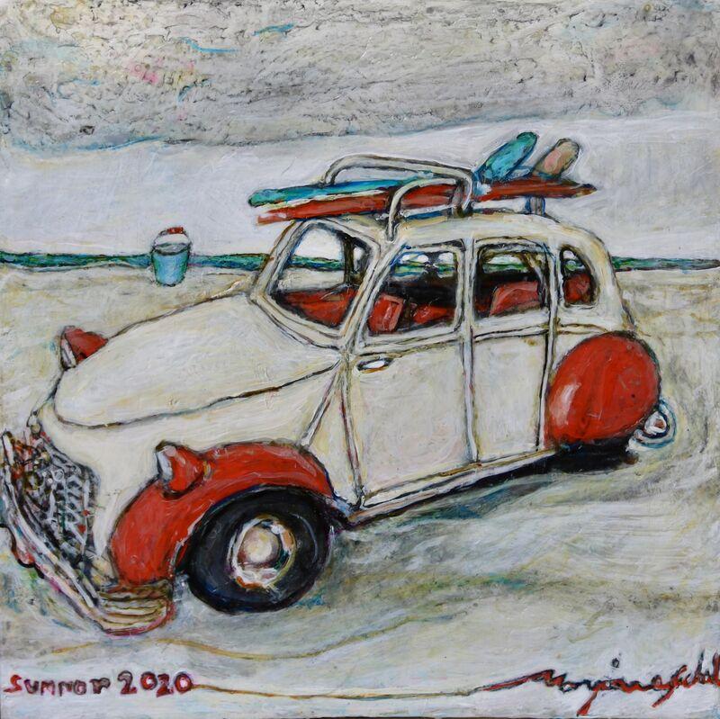 Marjorie Scholl, 'Summer 2020', 2020, Painting, Acrylic on wood, McVarish Gallery