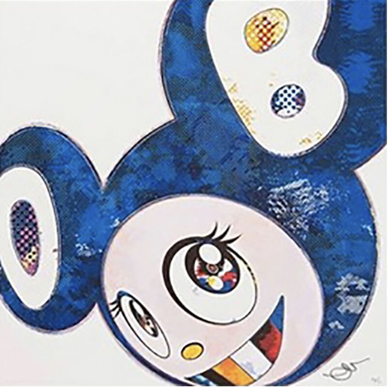 Takashi Murakami, 'And Then x 727 (Ultramarine: GUNJO)', 2013, Print, Offset lithograph with colours, End to End Gallery