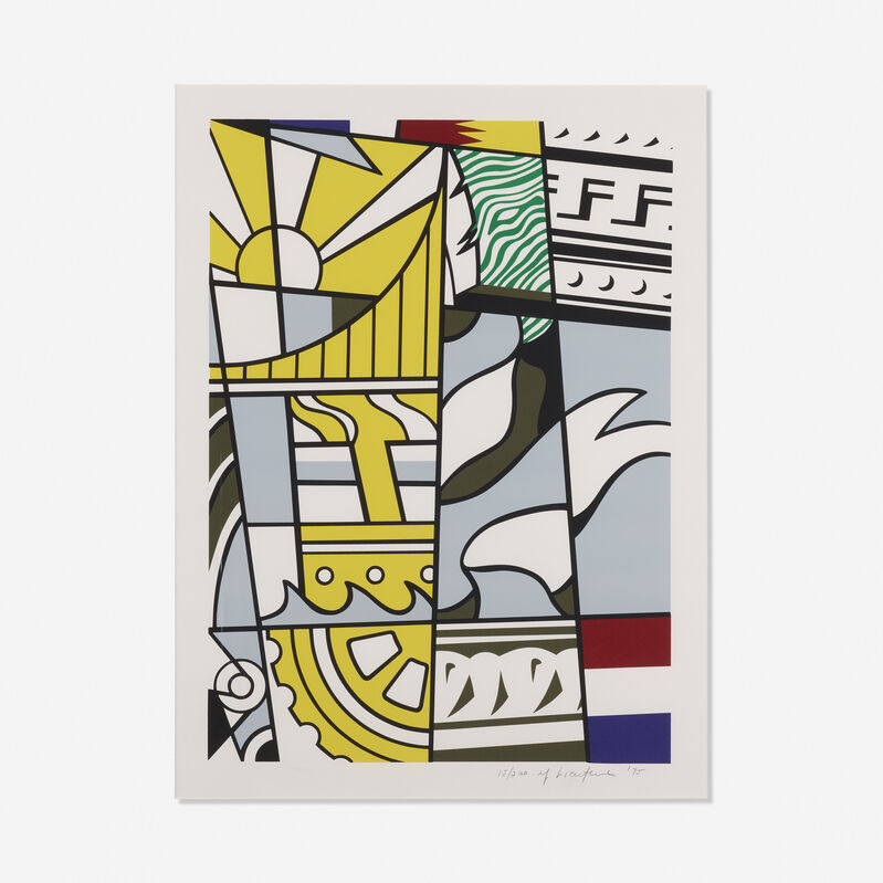 Roy Lichtenstein, 'Bicentennial Print', 1975, Print, Lithograph and screenprint in colors, Rago/Wright