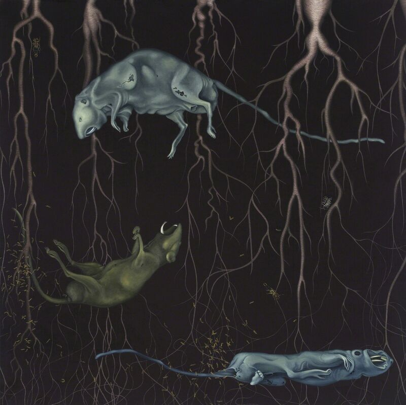 Anna Camner, 'Untitled', 2009, Painting, Oil on board, Stellan Holm Gallery