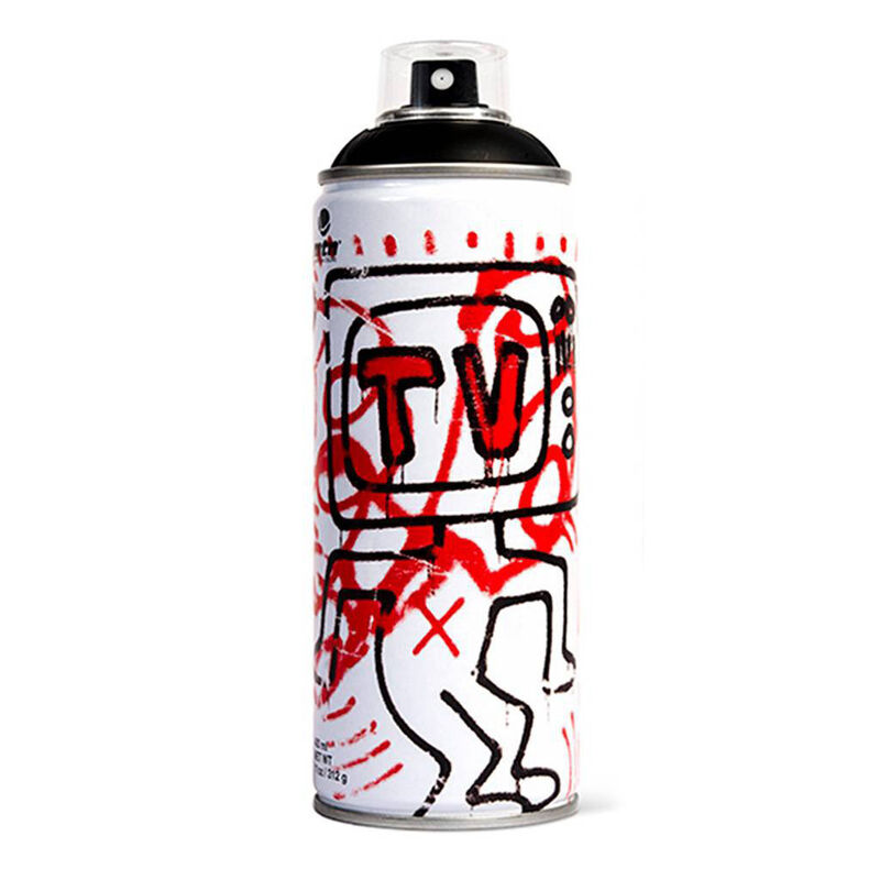 Keith Haring, 'Limited edition Keith Haring spray paint can ', 2018 , Ephemera or Merchandise, Offset lithograph on metal spray paint can, Lot 180