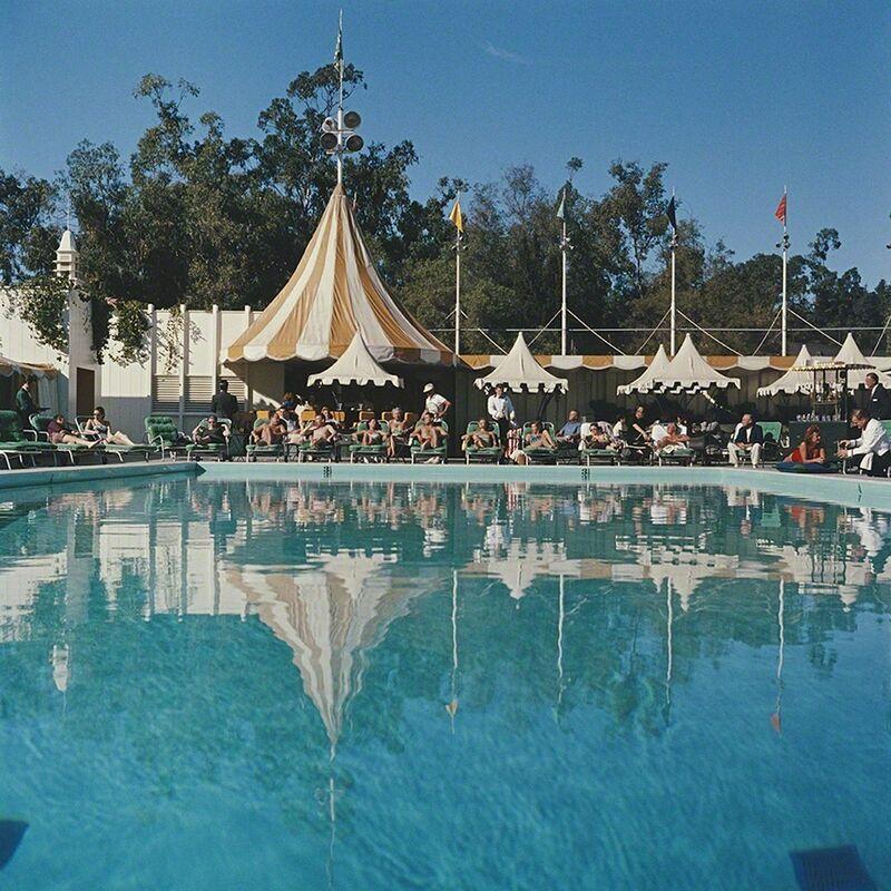 Slim Aarons, 'Beverly Hills Hotel', 1957, Photography, Chromogenic Lambda Print, Undercurrent Projects