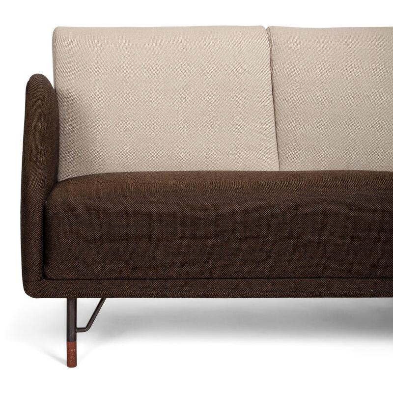Finn Juhl, 'Three seater sofa, model BO77', 1953, Design/Decorative Art, Teak, fabric and gunmetal, Dansk Møbelkunst Gallery