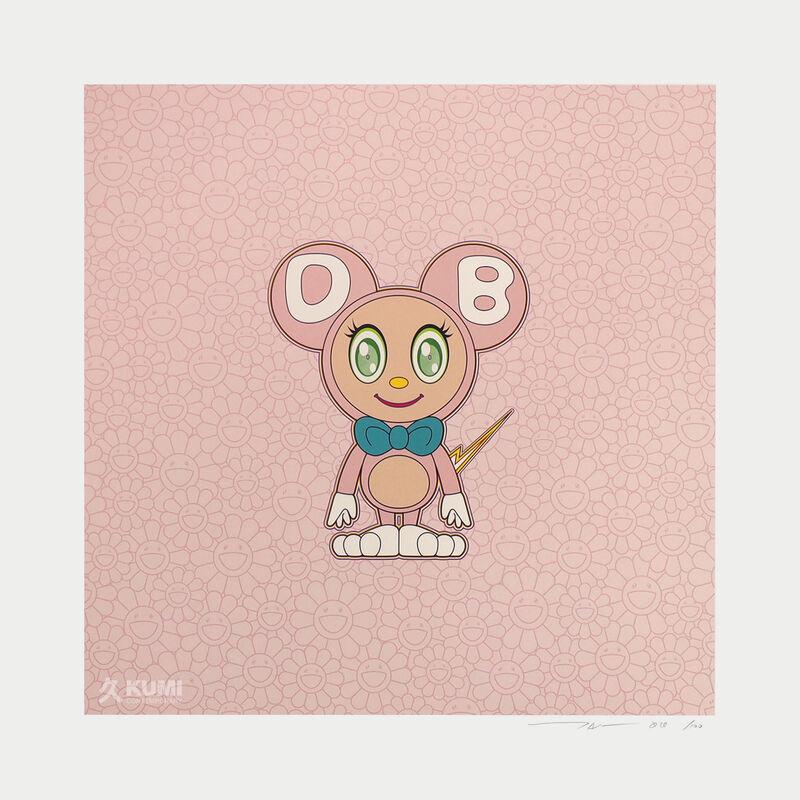 Takashi Murakami, 'Pink Light DOB 2020', 2020, Print, Color Lithograph, Kumi Contemporary / Verso Contemporary