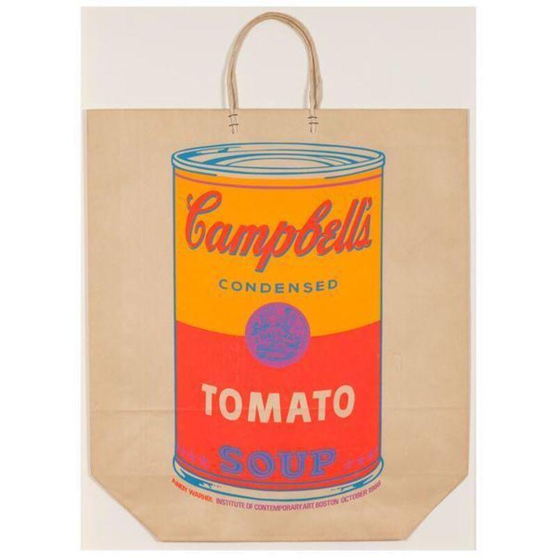 Andy Warhol, 'Soup Can Bag', 1966, Print, Screenprint in colors on shopping bag, Caviar20