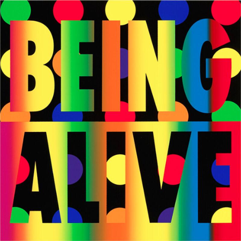 Deborah Kass, 'Deborah Kass, Being Alive', 2012, Print, Silkscreen, Oliver Cole Gallery