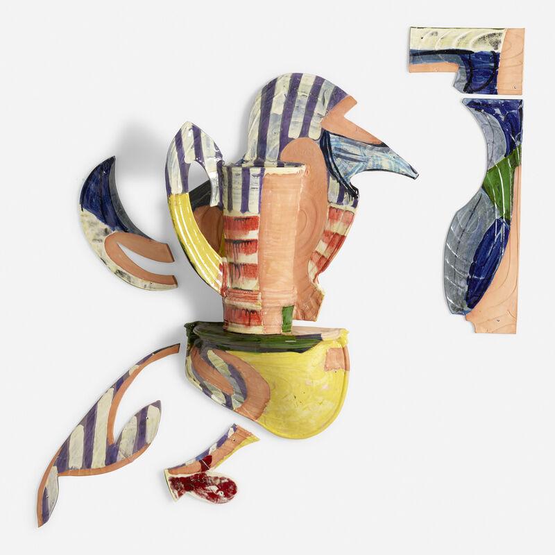 Betty Woodman, 'Balustrade Relief Vase #13', 1995, Design/Decorative Art, Glazed earthenware, Rago/Wright/LAMA
