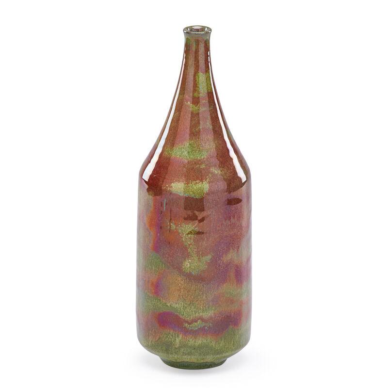 Gertrud Natzler, 'Fine Vase, Los Angeles, CA', 1964, Design/Decorative Art, Fine Vase, Oxblood, Green, And Lavender Glaze With Melt Fissures, Rago/Wright