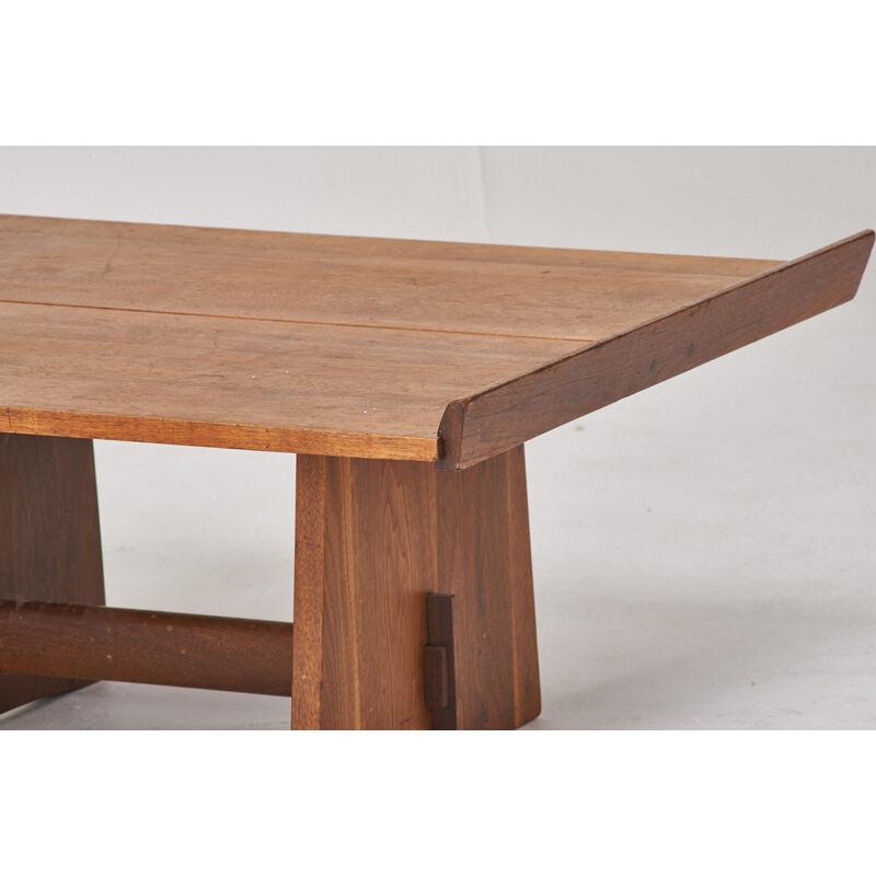 George Nakashima, 'Milkhouse Coffee Table, New Hope, PA', Design/Decorative Art, Walnut, Rago/Wright