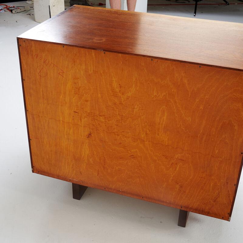 George Nakashima, 'Four-Drawer Chest, New Hope, PA', 1958, Design/Decorative Art, Walnut, Rago/Wright