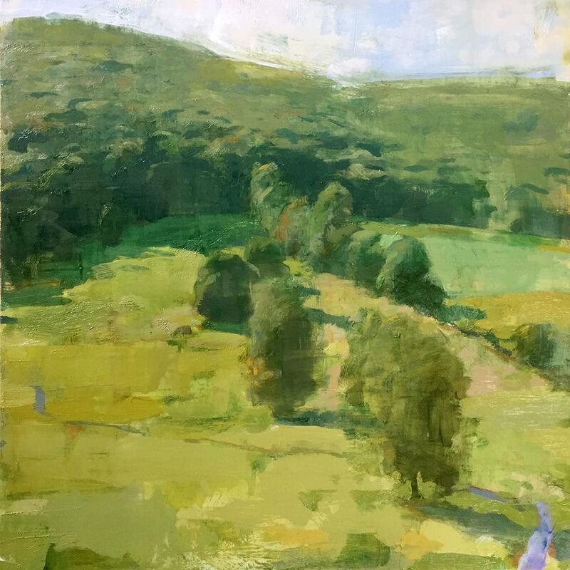 Jon Redmond, 'Smith Hollow', 2017, Painting, Oil on board, Somerville Manning Gallery