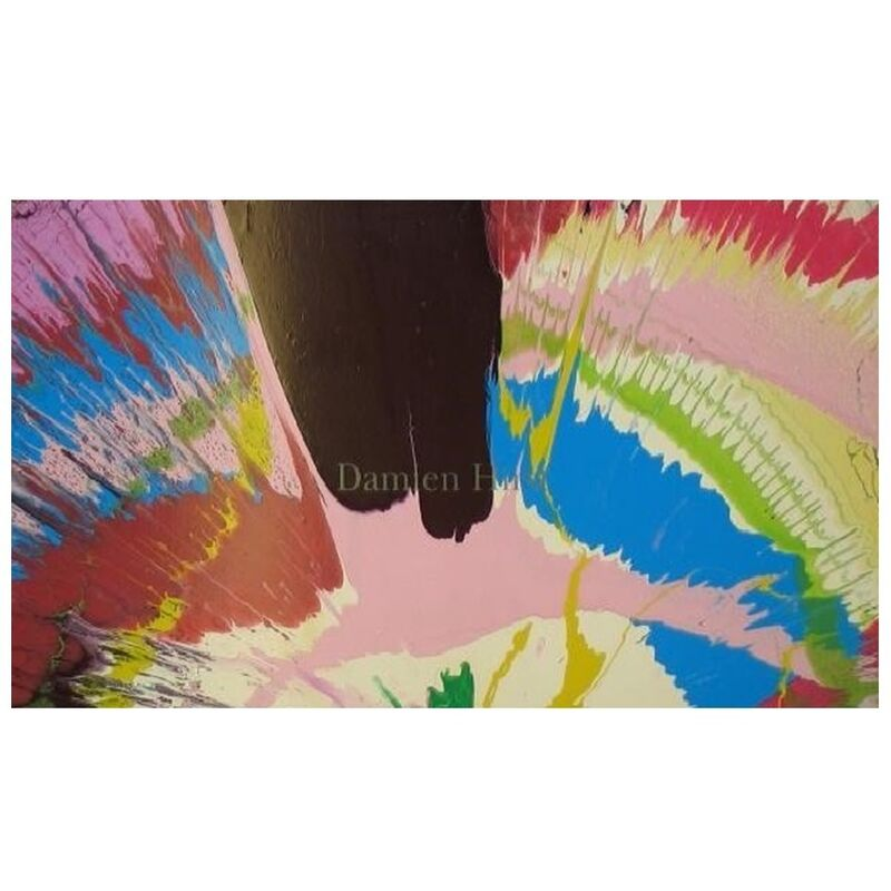 Damien Hirst, 'Spin Painting', 2002, Painting, Acrylic on cardboard, Weng Contemporary
