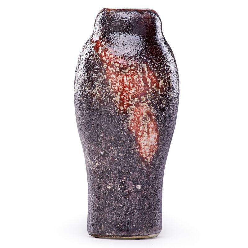 Ernest Chaplet, 'Fine Volcanic Oxblood Vase, France', Late 19th C., Design/Decorative Art, Glazed Porcelain, Rago/Wright/LAMA