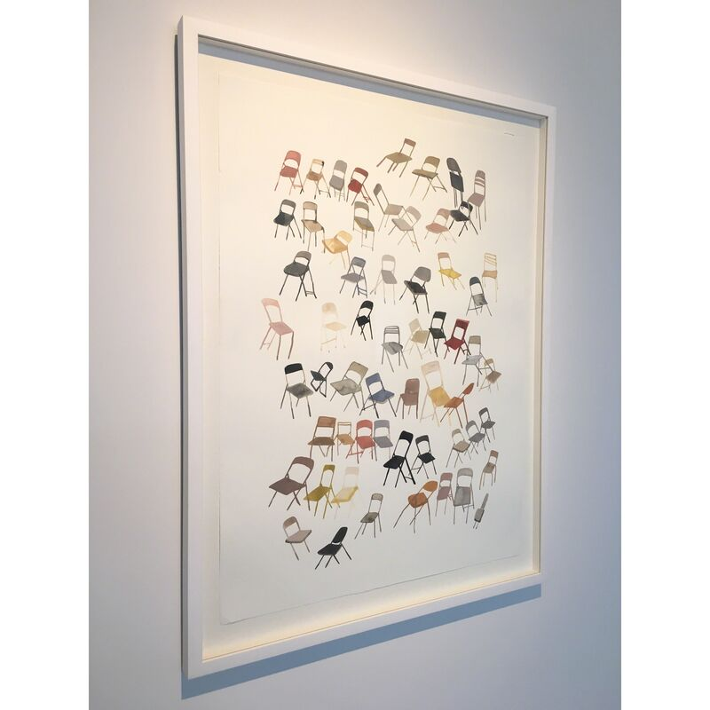 Ashley Mistriel, 'Face Forward', 2015, Painting, Gouache on Mohachi Paper, Open Mind Art Space