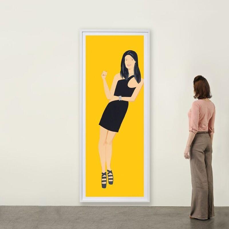 Alex Katz, 'Black Dress (Yi)', 2015, Print, Silkscreen, Weng Contemporary