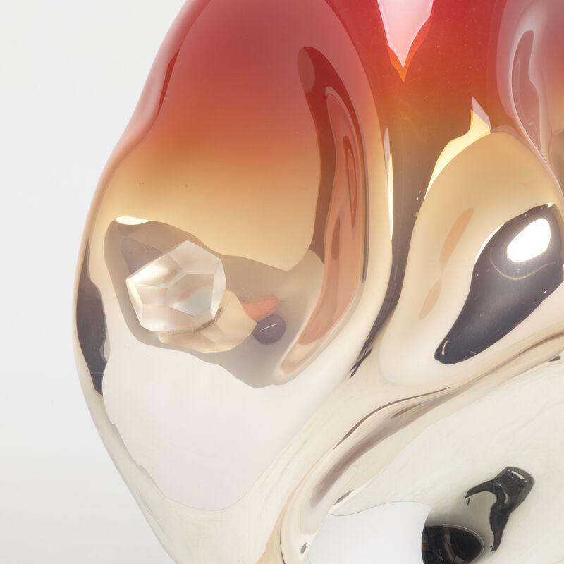 Jeff Zimmerman, 'Double Vessel', 2014, Design/Decorative Art, Blown glass with internal polychrome decoration, cut glass, Rago/Wright/LAMA