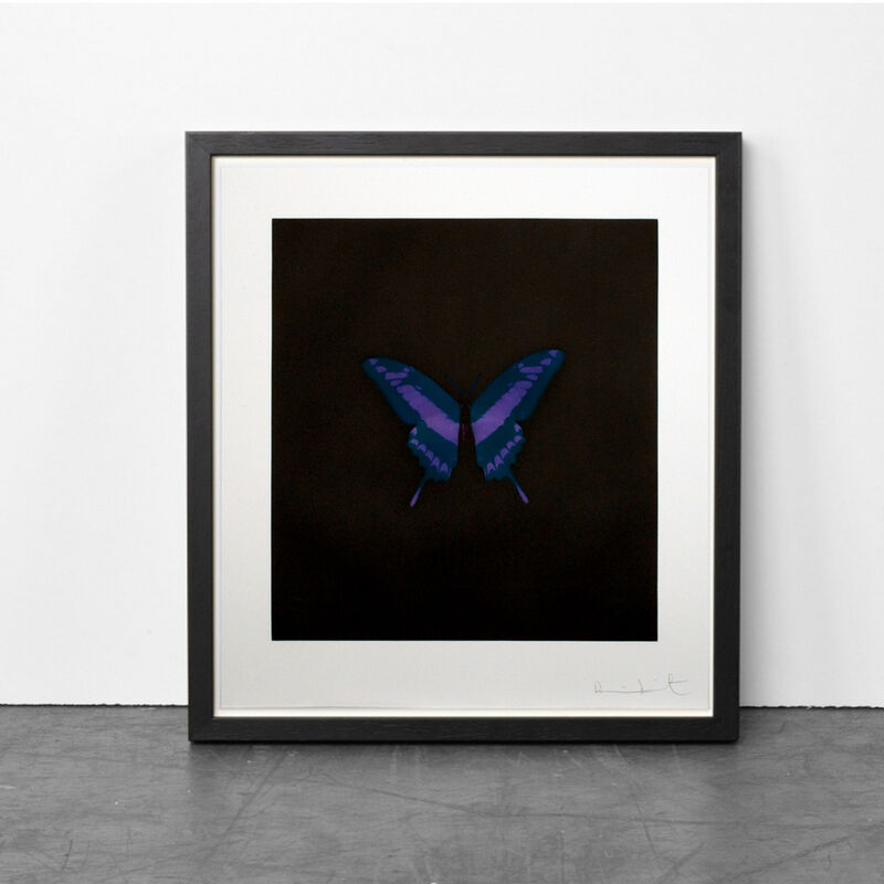 Damien Hirst, 'Purple Butterfly (Memento)', 2008, Print, Etching, Weng Contemporary