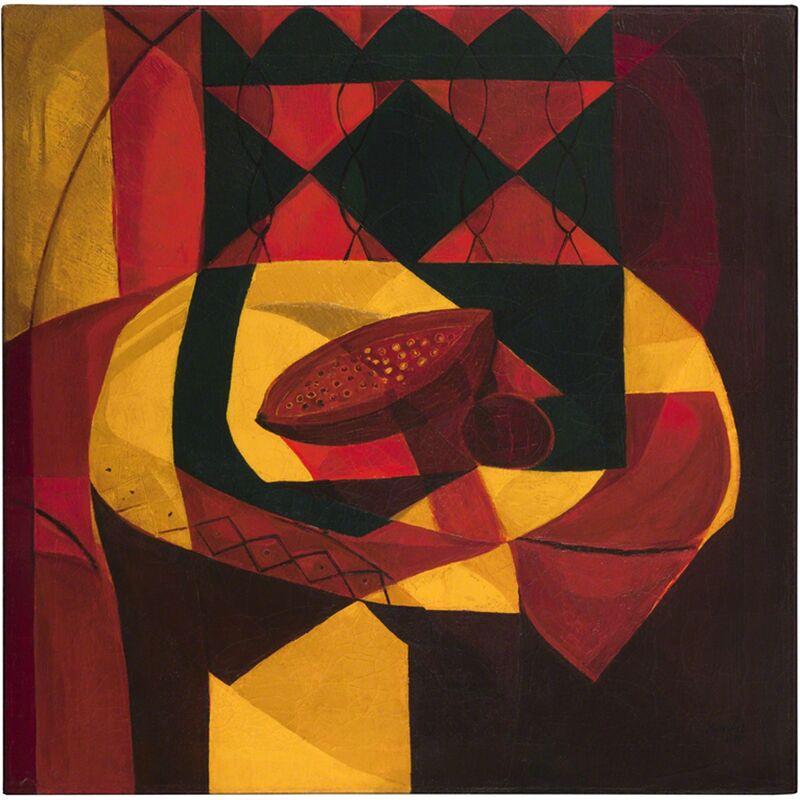 Amelia Peláez, 'Papayas', 1940, Painting, Oil on canvas, Pérez Art Museum Miami (PAMM)