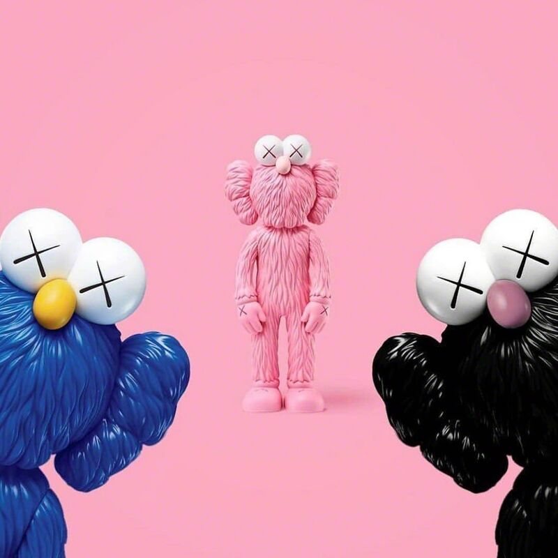 KAWS, 'BFF (Set of Three)', 2017, Sculpture, Painted Cast Vinyl, Lougher Contemporary