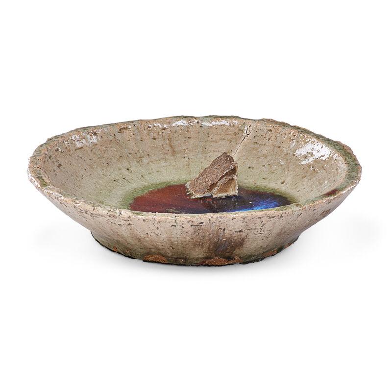 Ernest Chaplet, 'Large Bowl, Pooled Oxblood Glaze, France', 1890s, Design/Decorative Art, Glazed Stoneware, Rago/Wright/LAMA