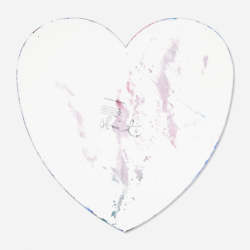 Damien Hirst, 'Heart Spin Painting', 2009, Painting, Acrylic on paper, Rago/Wright
