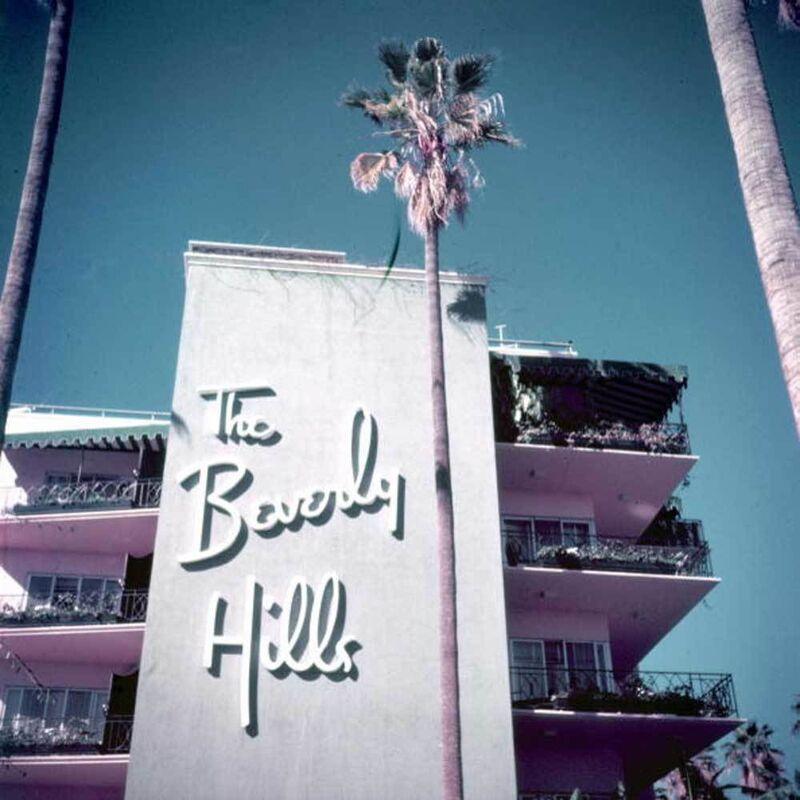 Slim Aarons, 'Slim Aarons Beverly Hills Hotel (Slim Aarons Estate Edition)', 1957, Photography, Lambda, Undercurrent Projects