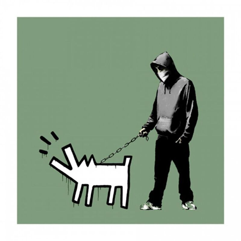 Banksy, 'Choose Your Weapon (Slate) - Signed', 2010, Print, Screen print on paper, Hang-Up Gallery