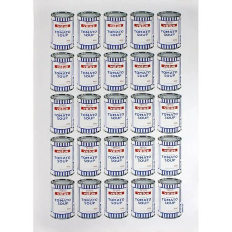 Banksy, 'Tesco Soup Cans', 2010, Print, Lithograph on paper, The Drang Gallery