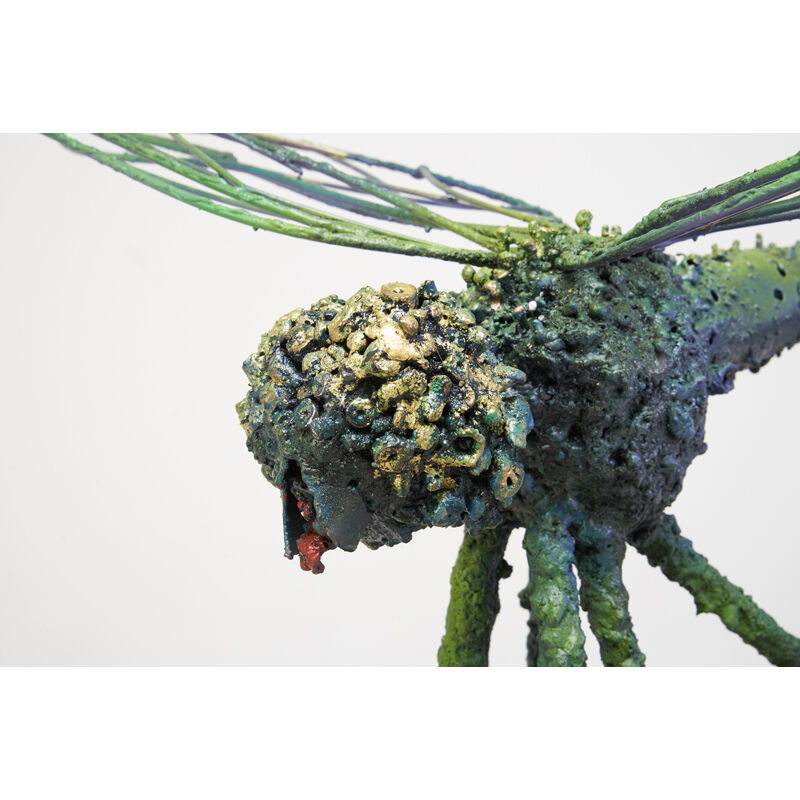 James Bearden, 'Dragonfly Sculpture, Des Moines, IA', 2017, Sculpture, Torch-cut, welded, textured, polychromed, and bronzed steel, Rago/Wright