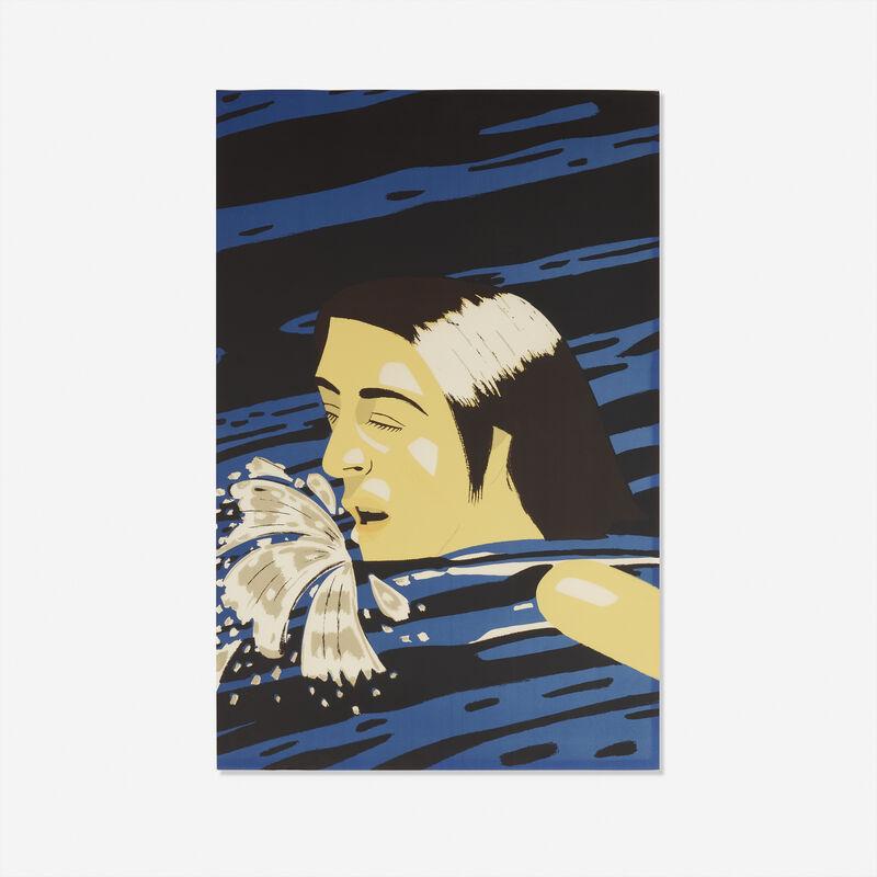Alex Katz, 'Olympic Swimmer', 1976, Print, Screenprint in colors, Rago/Wright
