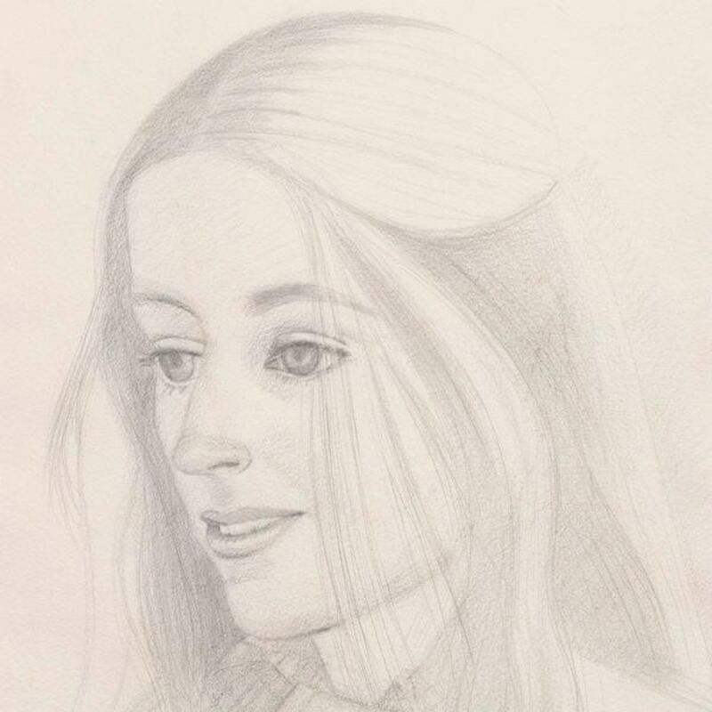 Alex Katz, 'Caroline', 1976, Drawing, Collage or other Work on Paper, Pencil on paper, Caviar20