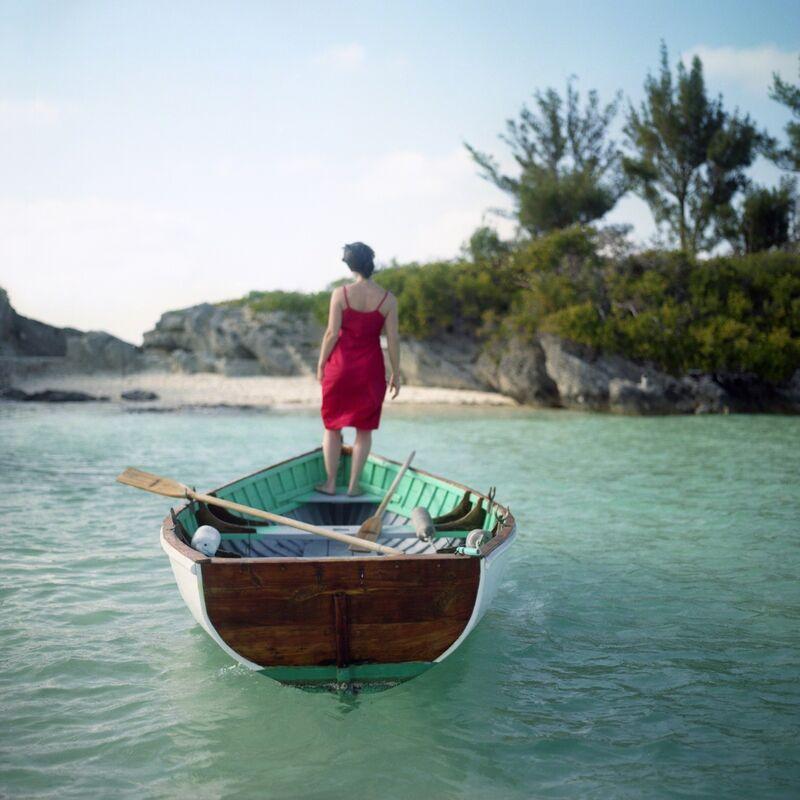 Cig Harvey, 'Flood Tide, Self-portrait, Mangrove Bay, Bermuda', 2005, Photography, Chromogenic print, Robert Klein Gallery