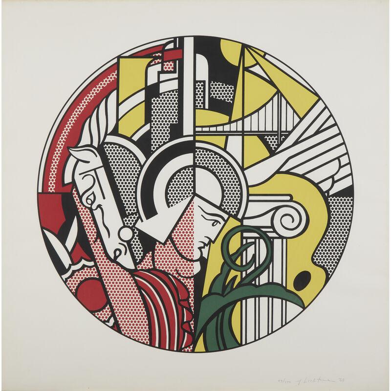 Roy Lichtenstein, 'The Solomon R. Guggenheim Museum Poster', 1969, Print, Color screenprint on BFK Rives, Freeman's