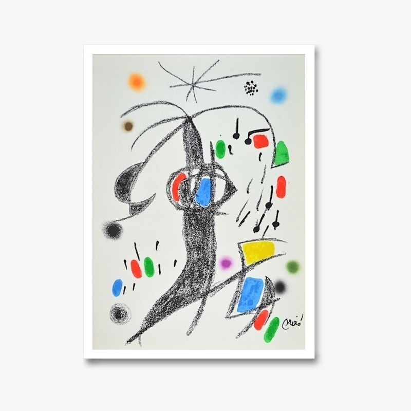 Joan Miró, 'Maravillas 19', 1970-1980, Print, Lithograph, signed in the plate, ARTEDIO