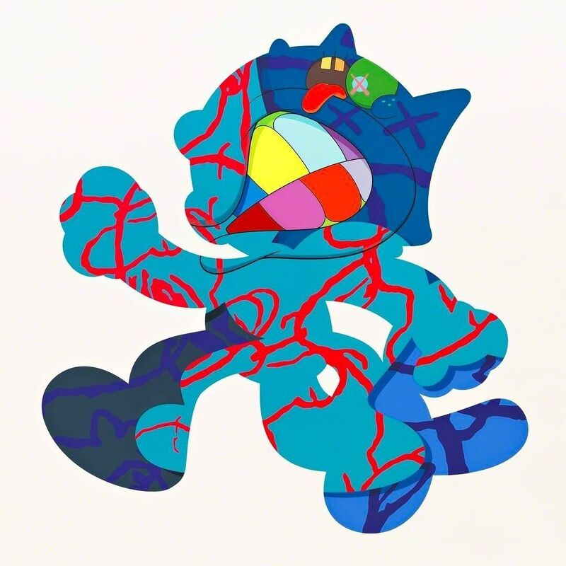 KAWS, 'Ankle Bracelet', Print, Silkscreen Print on Paper, Gormleys Fine Art