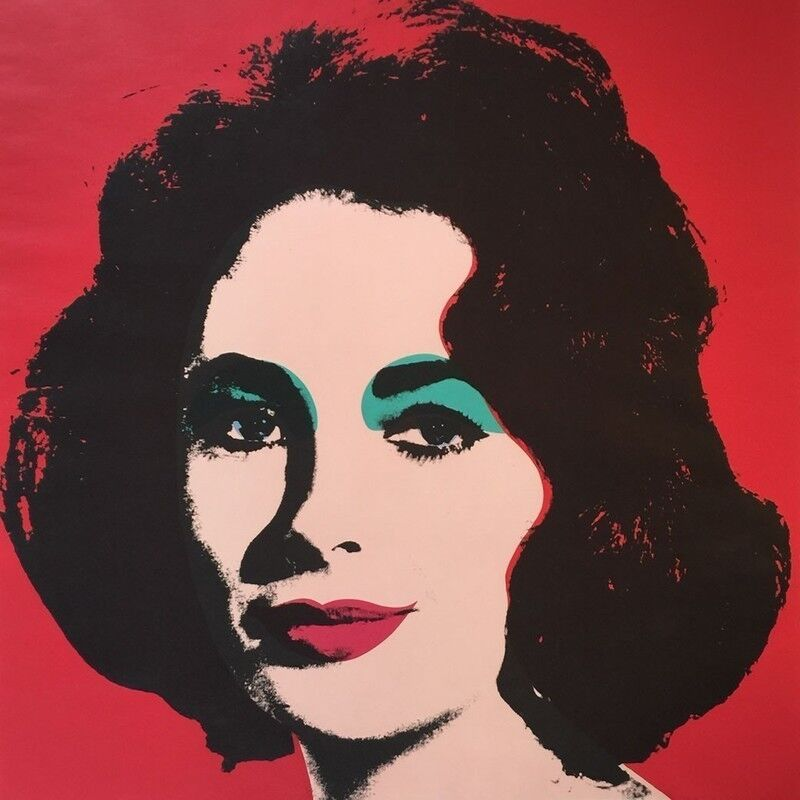 Andy Warhol, 'Liz Taylor', 1964, Print, Offset lithograph on paper, New River Fine Art