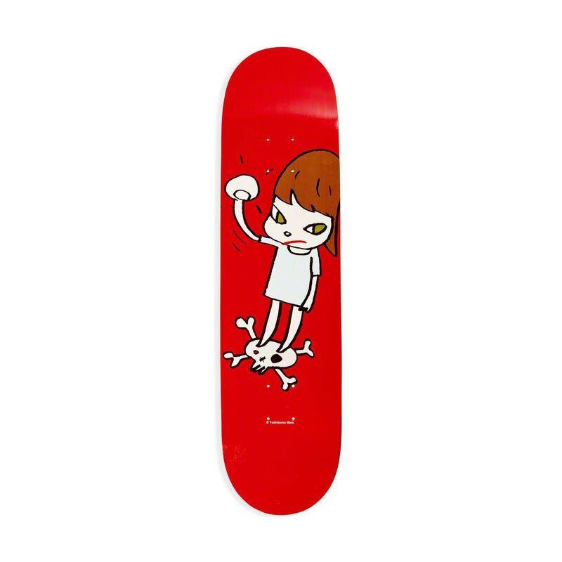 Yoshitomo Nara, 'Solid Fist Skateboard Deck', 2016, Design/Decorative Art, 7-ply Canadian Maplewood with screen-print, Artware Editions