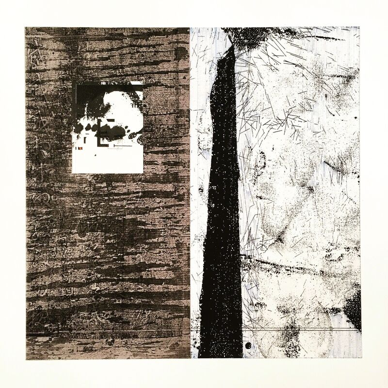 Alan Steele, 'Untitled New 1', 2015, Drawing, Collage or other Work on Paper, Pen, Ink and Mixed Media, Framed, Adah Rose Gallery