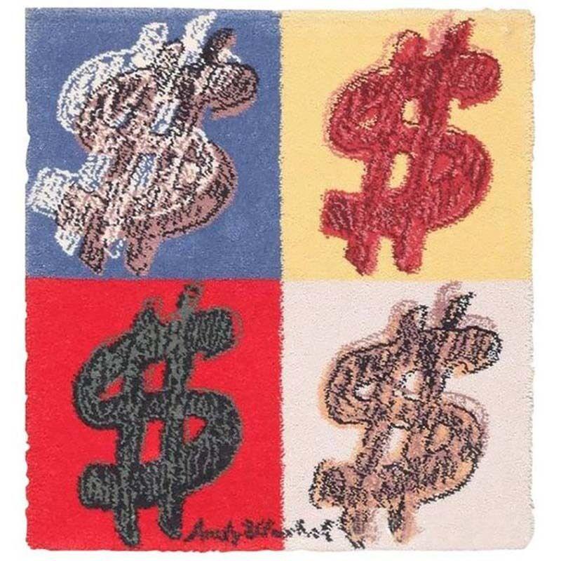 Andy Warhol, 'Dollar Sign rug', ca. 1981, Textile Arts, Yarn, Woven rug, Gallery 52