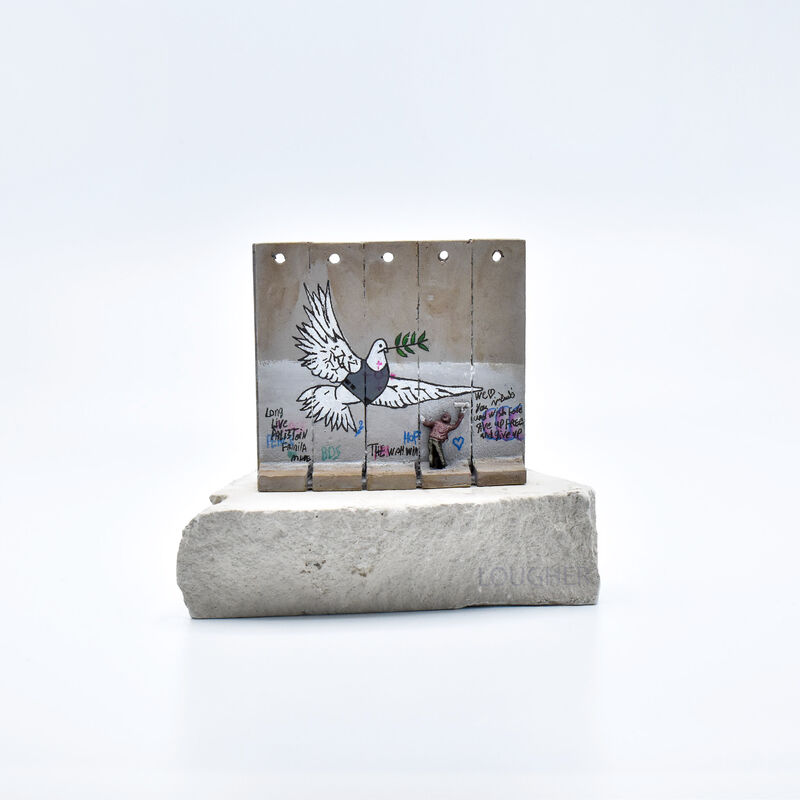 Banksy, 'Walled Off Hotel - Wall Sculpture (Dove)', 2018, Ephemera or Merchandise, Miniature concrete souvenir sculpture, hand-painted by local artists, Lougher Contemporary
