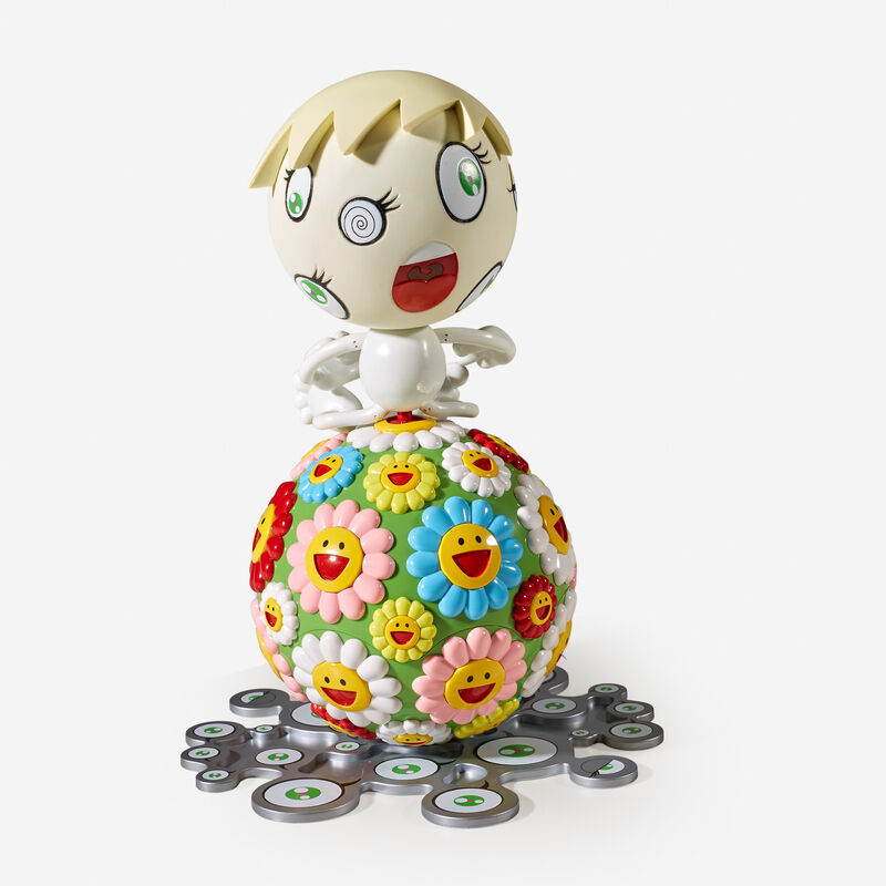 Takashi Murakami, 'Oval (Peter Norton Christmas Project)', 2000, Other, Colored plastic multiple with compact disc., Freeman's