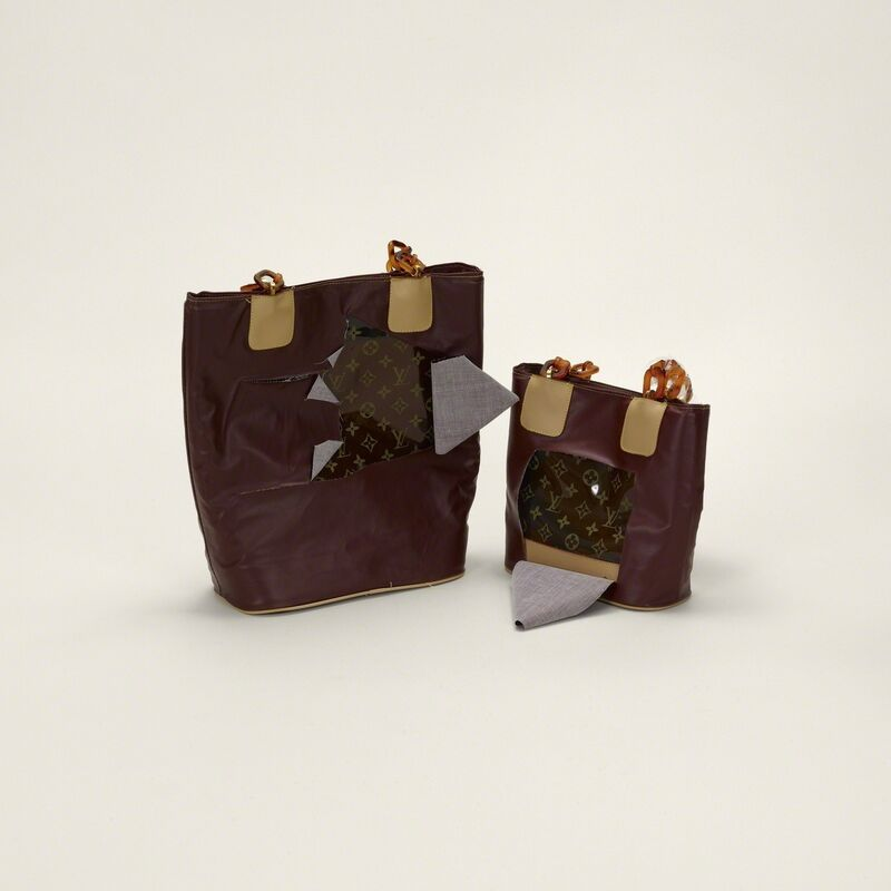Taryn Simon, 'Handbag, Louis Vuitton (Counterfeit)', Print, 16 Archival inkjet prints in 3 Plexiglas boxes, Jeu de Paume