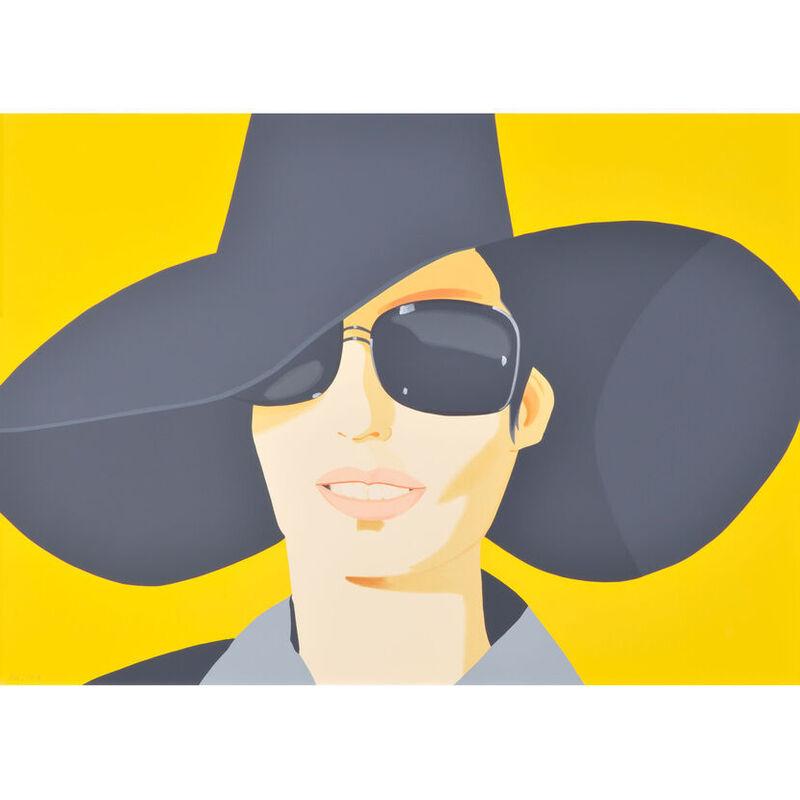 Alex Katz, 'Vivien in Black Hat', 2010, Print, Silkscreen, Weng Contemporary