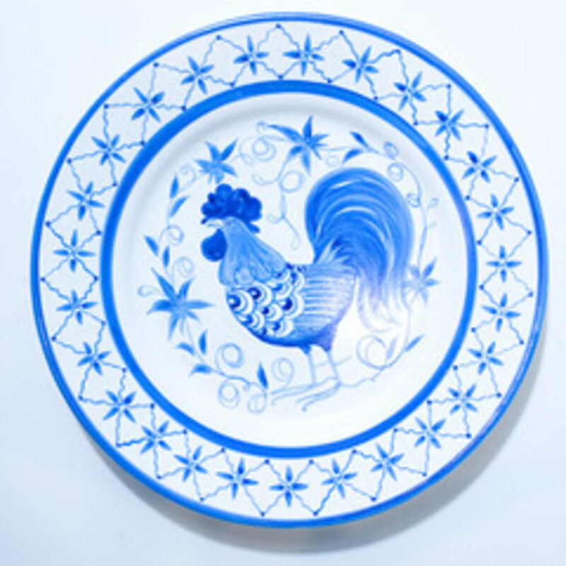 Eduardo Sarabia, 'Pair of History of the World Ceramic Plates- History of the World and History of the World', 2008, Design/Decorative Art, Hand Painted Ceramic Plates, Museum of Arts and Design Benefit Auction