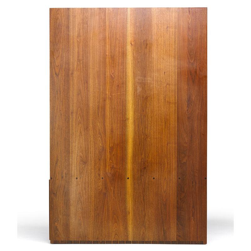 George Nakashima, 'Custom Wall-Mounting Double-Sided Desk, New Hope, PA', 1966, Design/Decorative Art, Walnut, Rago/Wright