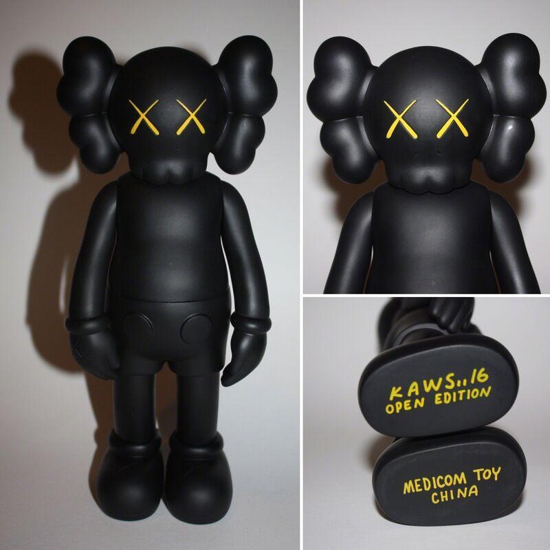 KAWS, 'Companion (Black)', 2016, Sculpture, Vinyl toy, Lougher Contemporary