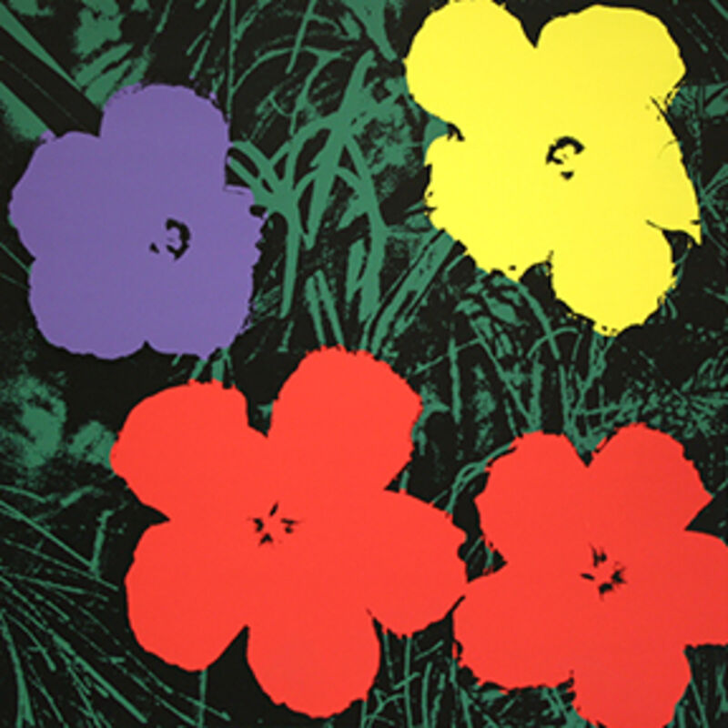Andy Warhol, 'Flowers 2 Sunday B. Morning', 1968, Print, Color Screen-print on paper, Thou Art
