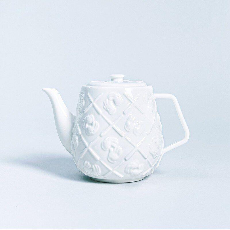 KAWS, 'Monogram Teapot', 2020, Mixed Media, Ceramics, Dope! Gallery Gallery Auction